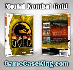 Mortal Kombat Gold Sega Dreamcast Game Case