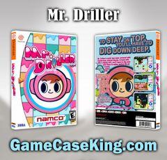 Mr. Driller Sega Dreamcast Game Case
