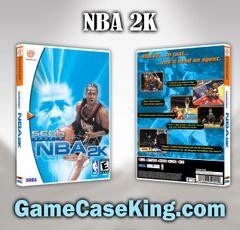 NBA 2K Sega Dreamcast Game Case