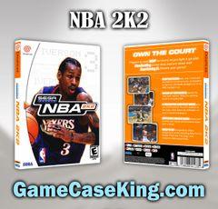 NBA 2K2 Sega Dreamcast Game Case