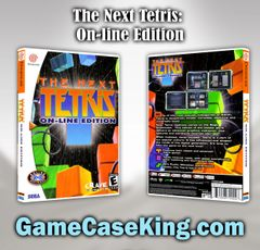 Next Tetris: On-line Edition, The Sega Dreamcast Game Case