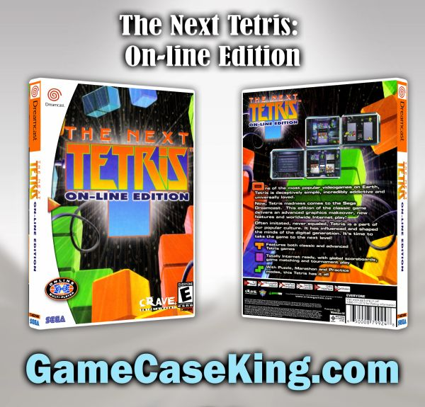 Next Tetris: On-line Edition, The Sega Dreamcast Game Case