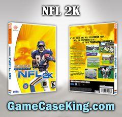 NFL 2K Sega Dreamcast Game Case