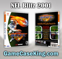 NFL Blitz 2001 Sega Dreamcast Game Case