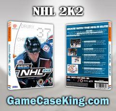 NHL 2K2 Sega Dreamcast Game Case