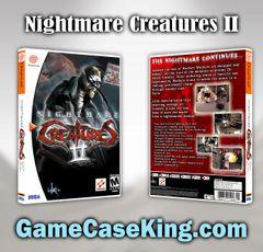 Nightmare Creatures II Sega Dreamcast Game Case