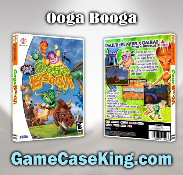 Ooga Booga Sega Dreamcast Game Case
