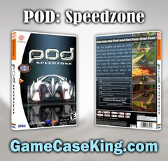 POD: Speedzone Sega Dreamcast Game Case