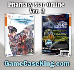Phantasy Star Online Ver. 2 Sega Dreamcast Game Case