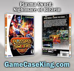 Plasma Sword: Nightmare of Bilstein Sega Dreamcast Game Case