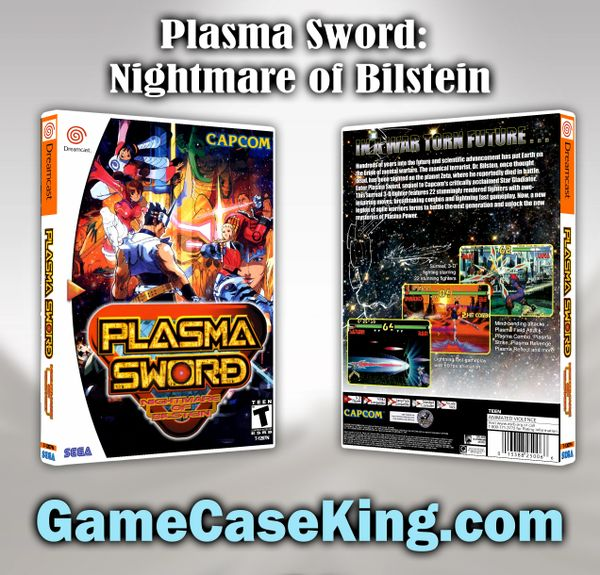 Plasma Sword: Nightmare of Bilstein Sega Dreamcast Game Case
