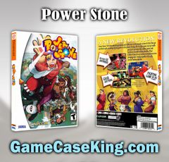 Power Stone Sega Dreamcast Game Case