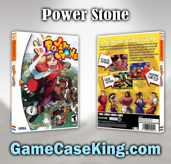 Power Stone Sega Dreamcast Game Case