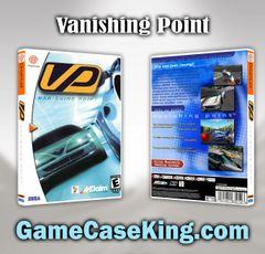 Vanishing Point Sega Dreamcast Game Case