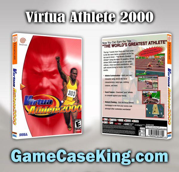 Virtua Athlete 2000 Sega Dreamcast Game Case