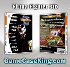Virtua Fighter 3tb Sega Dreamcast Game Case