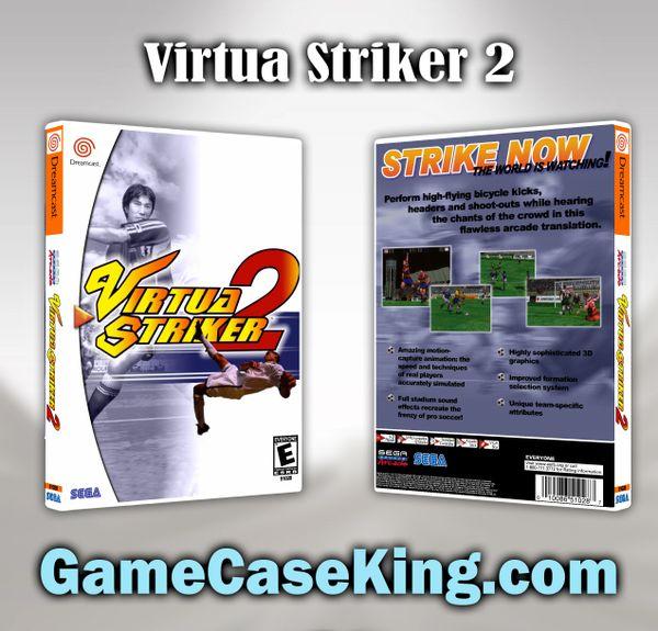 Virtua Striker 2 Sega Dreamcast Game Case