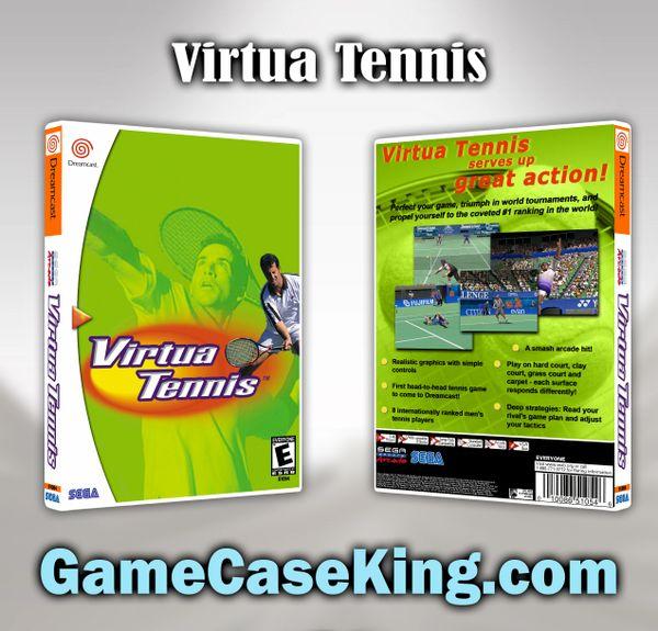 Virtua Tennis Sega Dreamcast Game Case