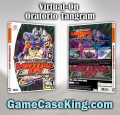 Virtual-On OratorioTangram Sega Dreamcast Game Case