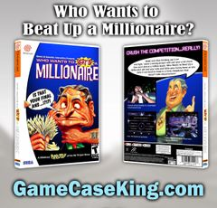 Who Wants to Beat Up a Millionaire? Sega Dreamcast Game Case