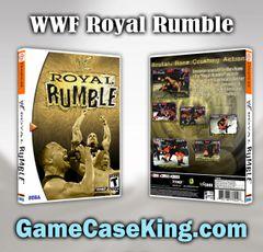 WWF Royal Rumble Sega Dreamcast Game Case
