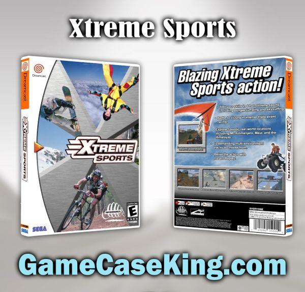Xtreme Sports Sega Dreamcast Game Case