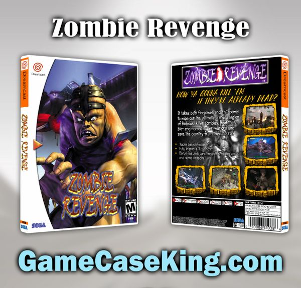 Zombie Revenge Sega Dreamcast Game Case