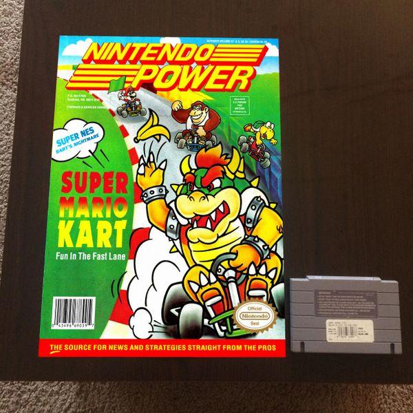 Nintendo Power Volume 41 Poster - Metroid (16x12 in)