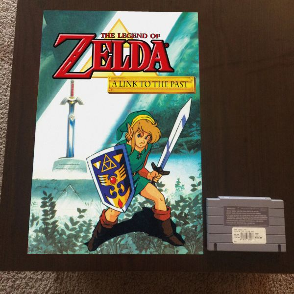 A Link to the Past Poster (18x12 in)