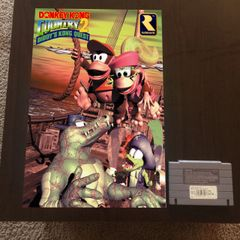 Donkey Kong Country 2 Poster (18x12 in)