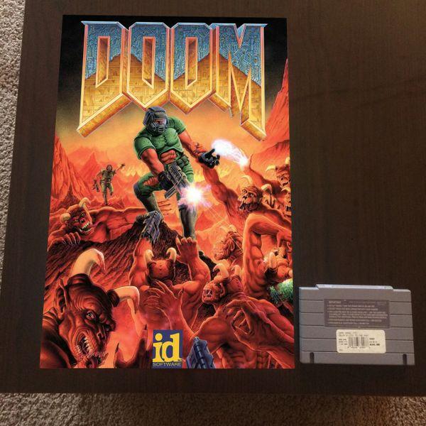 Doom Poster (18x12 in)