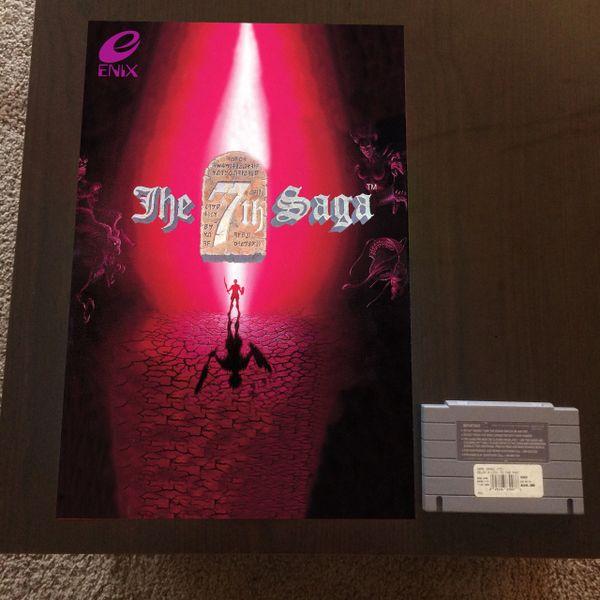 7th Saga Poster (18x12 in)