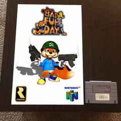 Conker's Bad Fur Day Poster (18x12 in)