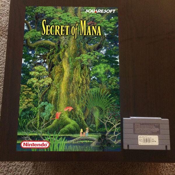 Secret of Mana Poster (18x12 in)