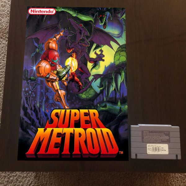 Super Metroid Poster (18x12 in)
