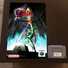 Legend of Zelda: Ocarina of Time N64 Poster (18x12 in)
