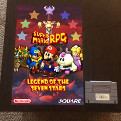 Super Mario RPG Poster (18x12 in)