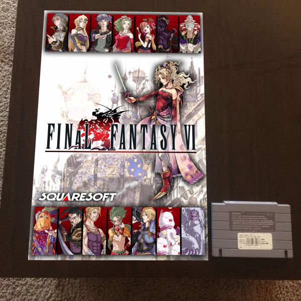 Final Fantasy VI Poster (18x12 in)