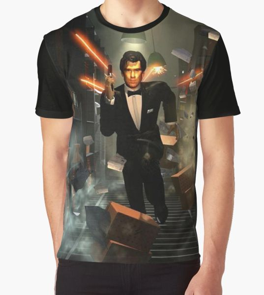 Goldeneye 007 Graphic T-Shirt
