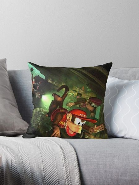 "Donkey Kong Country 2 ""Under Water"" Pillow ~FREE SHIPPING~"