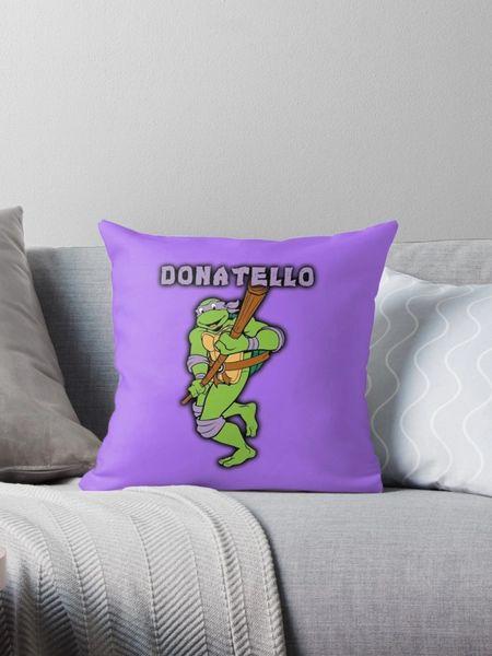Donatello TMNT Pillow ~FREE SHIPPING~