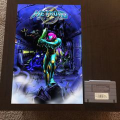 Metroid Fusion Poster (18x12 in)