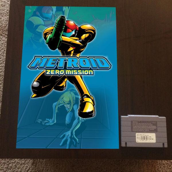 Metroid Zero Mission Poster (18x12 in)