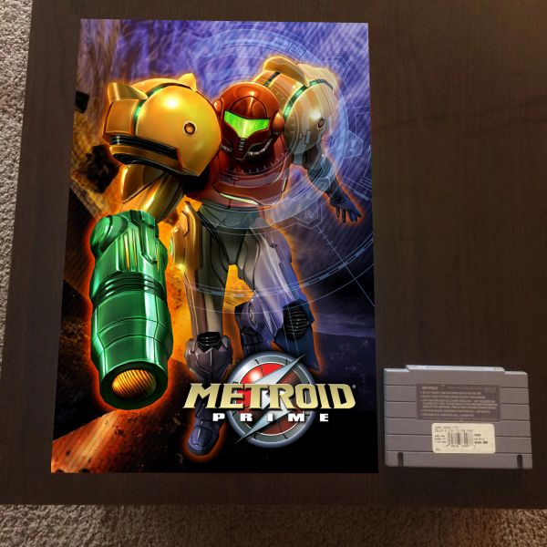 Metroid Prime Poster (18x12 in)