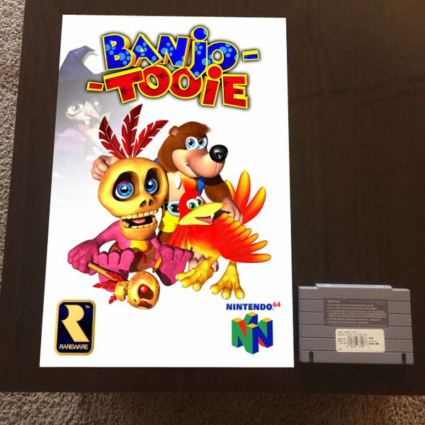 Banjo-Tooie Poster (18x12 in)