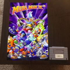 Mega Man X3 Poster (18x12 in)