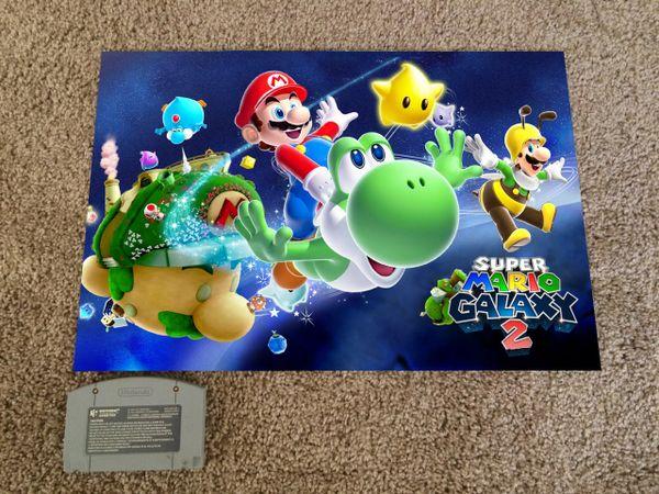 Super Mario Galaxy 2 Poster (18x12 in)