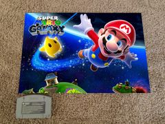 Super Mario Galaxy Poster (18x12 in)