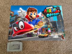 Super Mario Odyssey Poster (18x12 in)