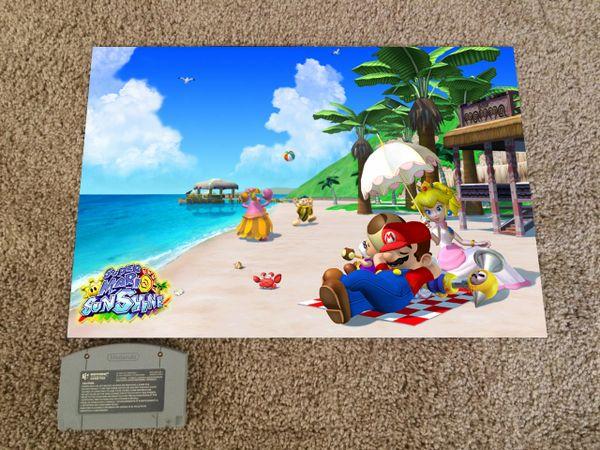 Super Mario Sunshine Poster #2 (18x12 in)